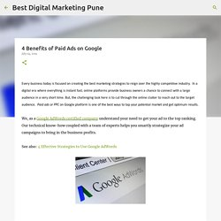 4 Benefits of Paid Ads on Google