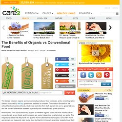 The Benefits of Organic vs Conventional Food
