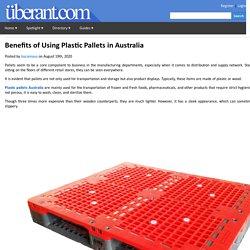 Benefits of Using Plastic Pallets in Australia