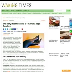 The Many Health Benefits of Pranyama Yoga Breathing