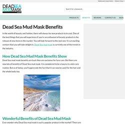 Prevents Falling Strands - Dead Sea Mud Mask Guide