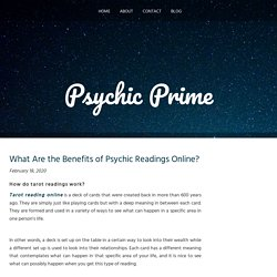 What Are the Benefits of Psychic Readings Online?