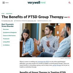 The Benefits of PTSD Group Therapy