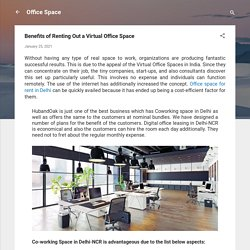 Benefits of Renting Out a Virtual Office Space