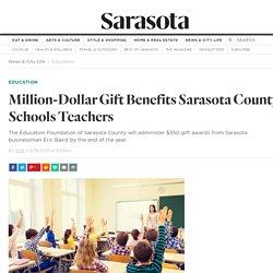 Million-Dollar Gift Benefits Sarasota County Schools Teachers