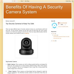 Top Security Cameras to Keep You Safe