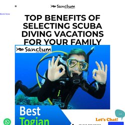 Top Benefits Of Selecting Scuba Diving Vacations For Your Family
