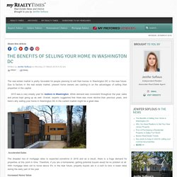 The Benefits of Selling Your Home in Washington DC