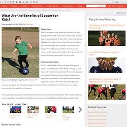 What Are the Benefits of Soccer for Kids?