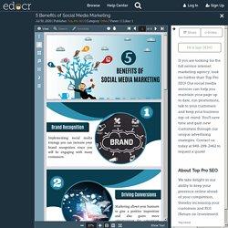 5 Benefits of Social Media Marketing