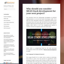 Benefits of MEAN Stack Development