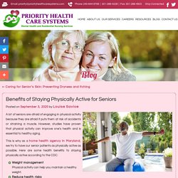 Benefits of Staying Physically Active for Seniors