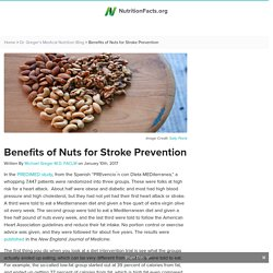 Benefits of Nuts for Stroke Prevention