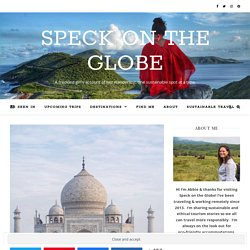 The Benefits of Sustainable Tourism · Speck on the Globe