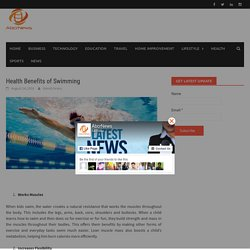 Health Benefits of Swimming - abcrnews