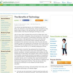 The Benefits of Technology