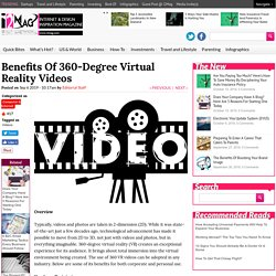 Benefits Of 360-Degree Virtual Reality Videos - I2Mag - Trending Tech News, Travel And Lifestyle Magazine - I2Mag - Trending Tech News, Travel And Lifestyle Magazine