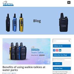 Benefits of using walkie-talkies at water parks