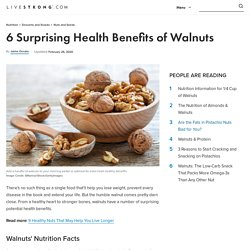 Benefits of Walnuts and Walnuts Nutrition Facts