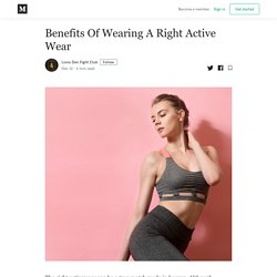 Benefits Of Wearing A Right Active Wear - Lions Den Fight Club - Medium
