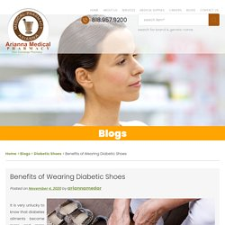 Benefits of Wearing Diabetic Shoes