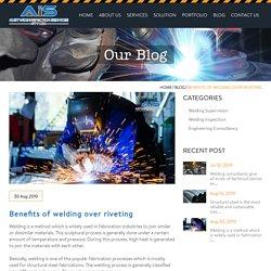 Benefits of welding over riveting