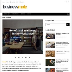 Benefits of Wellbeing in the Workplace – Business Mole