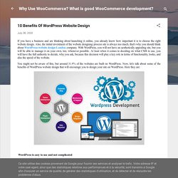10 Benefits Of WordPress Website Design