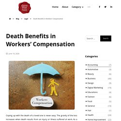 Death Benefits in Workers' Compensation