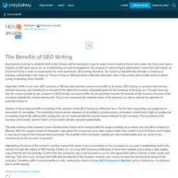 The Benefits of SEO Writing