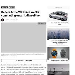 Benelli Achle 29: Three weeks commuting on an Italian eBike
