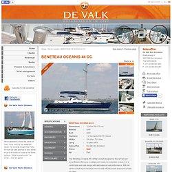 BENETEAU OCEANIS 44 CC sailing yacht for sale