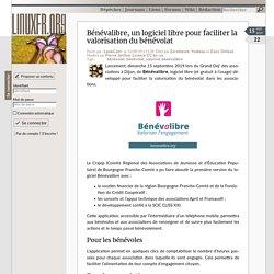 Bénévalibre, un logiciel libre pour faciliter la valorisation du bénévolat