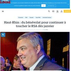 Haut-Rhin : du bénévolat pour continuer à toucher le RSA dès janvier - le Parisien