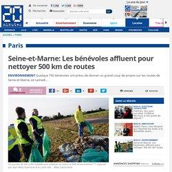 Seine-et-Marne: Les bénévoles affluent pour nettoyer 500 km de routes