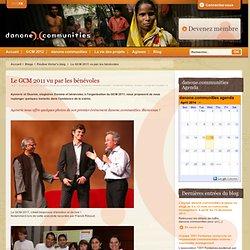 Le GCM 2011 vu par les bénévoles
