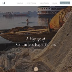 RV Bengal Ganga- A Voyage Of Countless Experiences