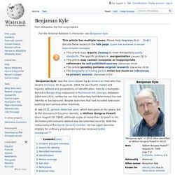 Benjaman Kyle