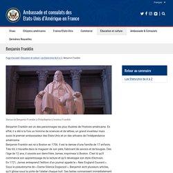 Ambassade et consulats des Etats-Unis d'Amérique en France