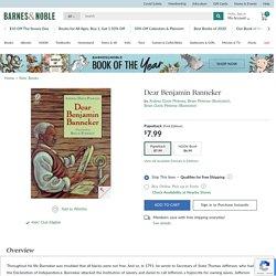 Dear Benjamin Banneker by Andrea Davis Pinkney, Brian Pinkney, Brian Davis Pinkney, Paperback