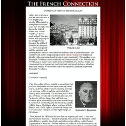 Benjamin H.Freedman's 1961 Willard Hotel Speech