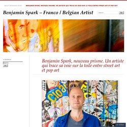Benjamin Spark, nouveau prisme. Un artiste qui trace sa voie sur la toile entre street art et pop art