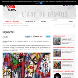 Benjamin SPaRK - sur Strip Art le Blog