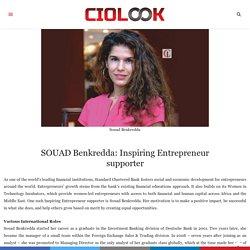 SOUAD Benkredda: Inspiring Entrepreneur supporter