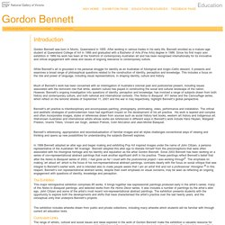 Gordon Bennett Education Resource