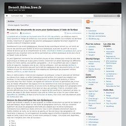 Benoît.Bâlon.free.fr » OpenOffice