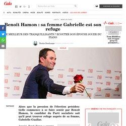 Benoît Hamon: sa femme Gabrielle est son refuge