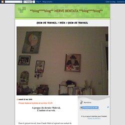 **blog****blog** HERVE BENTATA **blog****blog**: Preaut Maleval Autiste et sa Voix 10 05