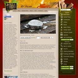 Bentonite clay - Powder