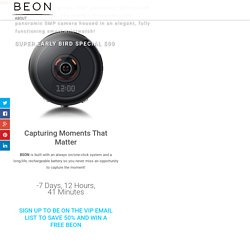 Beon Landing Page - Hot-NewTech